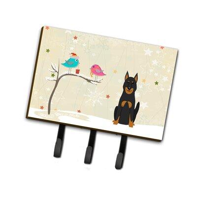 Christmas Beauce Shepherd Dog Leash or Key Holder