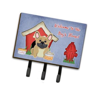 Dog House French Bulldog Leash or Key Holder