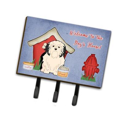 Dog House Lowchen Leash or Key Holder