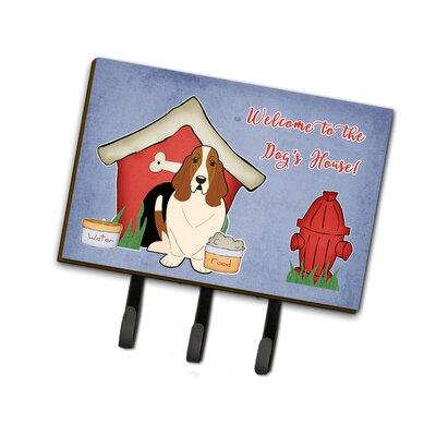 Dog House Basset Hound Leash or Key Holder