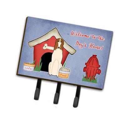 Dog House Borzoi Leash or Key Holder