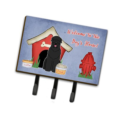 Dog House Russian Terrier Leash or Key Holder