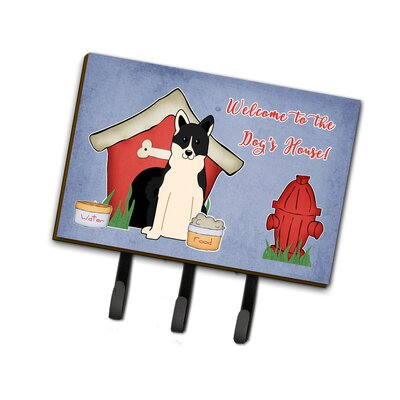 Dog House Russo-European Laika Spitz Leash or Key Holder