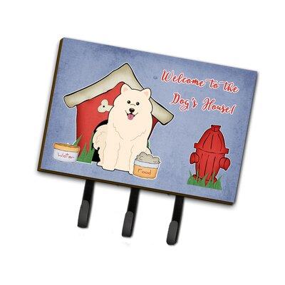 Dog House Samoyed Leash or Key Holder