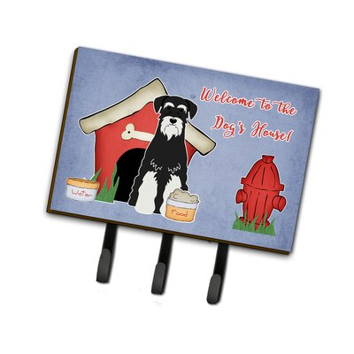 Dog House Standard Schnauzer Leash or Key Holder