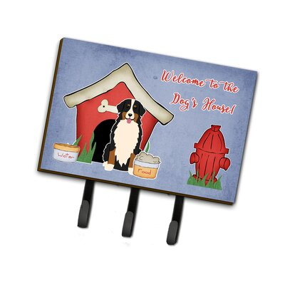 Dog House Bernese Mountain Dog Leash or Key Holder