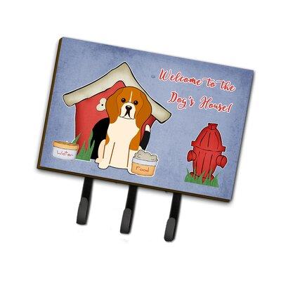 Dog House Beagle Tricolor Leash or Key Holder