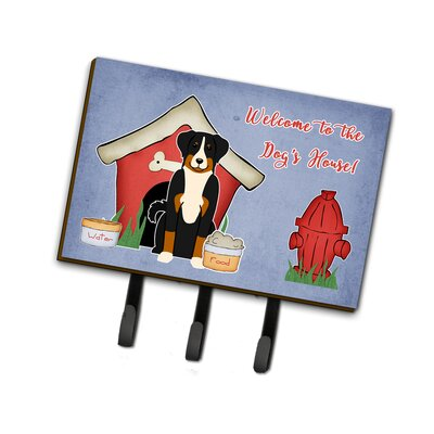 Dog House Appenzeller Sennenhund Leash or Key Holder