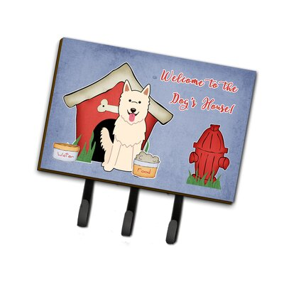 Dog House German Shepherd Leash or Key Holder