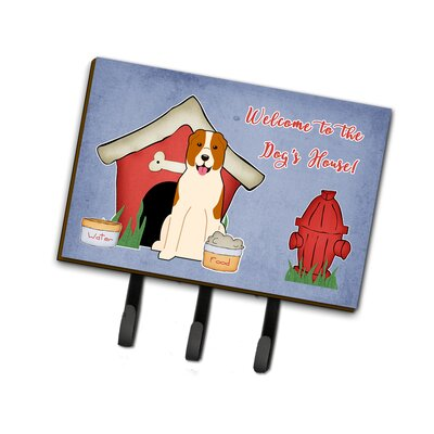 Dog House Central Asian Shepherd Dog Leash or Key Holder