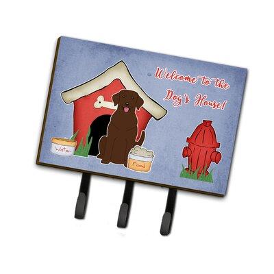 Dog House Labrador Leash or Key Holder