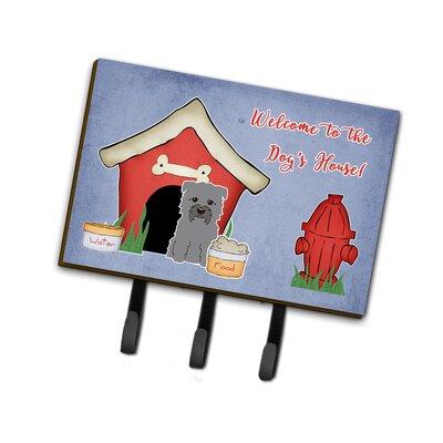 Dog House Glen of Imal Leash or Key Holder Finish: Gray