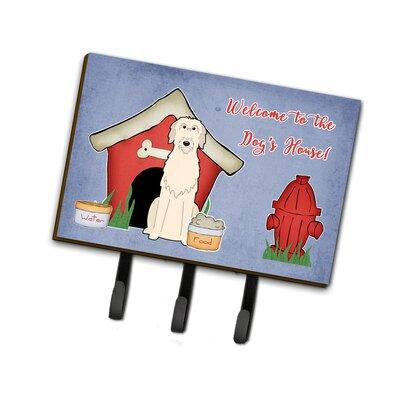Dog House Irish Wolfhound Leash or Key Holder