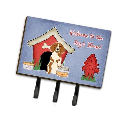 Dog House Brittany Spaniel Leash or Key Holder