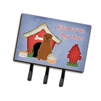 Dog House Dogue de Bordeaux Leash or Key Holder