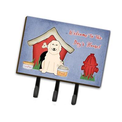 Dog House Great Pyrenese Leash or Key Holder