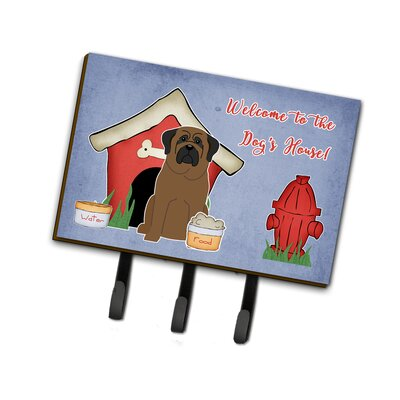 Dog House Bullmastiff Leash or Key Holder