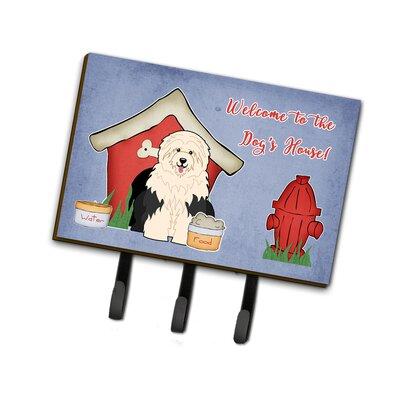 Dog House Old English Sheepdog Leash or Key Holder
