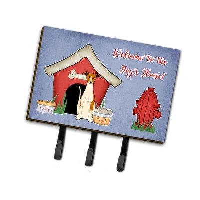 Dog House Whippet Leash or Key Holder