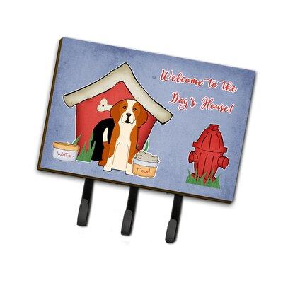 Dog House English Foxhound Leash or Key Holder