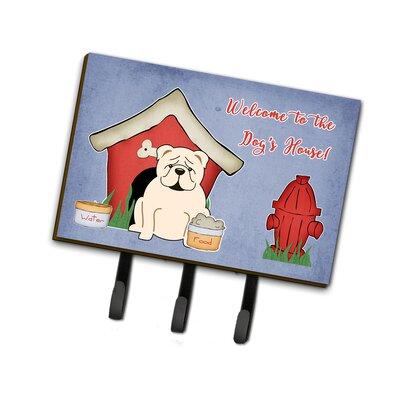 Dog House English Bulldog Leash or Key Holder