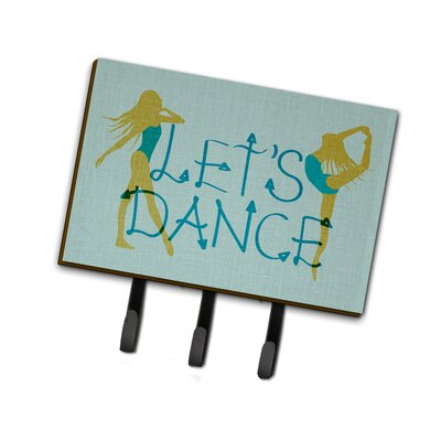 Let's Dance Linen Leash or Key Holder