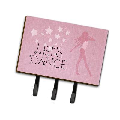 Modern Let's Dance Linen Leash or Key Holder