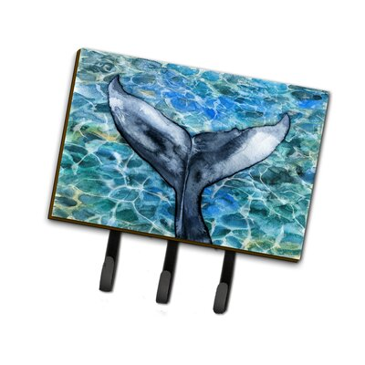 Whale Tail Leash or Key Holder