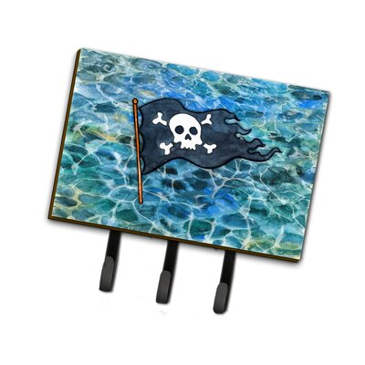 Pirate Flag Leash or Key Holder