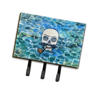 Skeleton Skull Pirate Leash or Key Holder