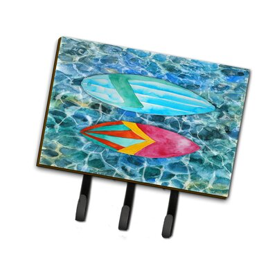 Surf Boards on the Water Leash or Key Holder