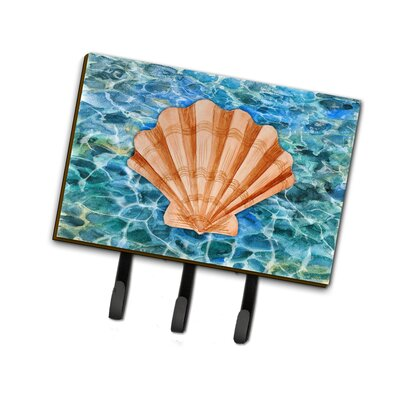 Scallop Shell and Water Leash or Key Holder
