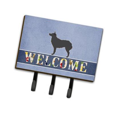 Croatian Sheepdog Welcome Leash or Key Holder
