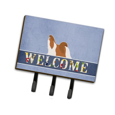 Shih Tzu Welcome Leash or Key Holder