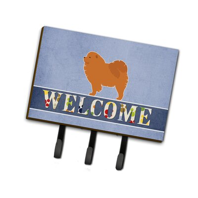 Chow Chow Welcome Leash or Key Holder