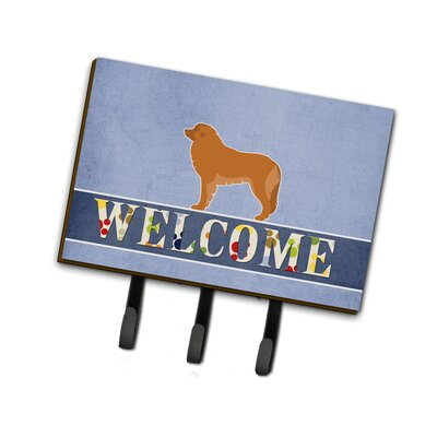 Leonberger Welcome Leash or Key Holder