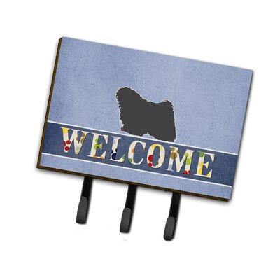Puli Welcome Leash or Key Holder