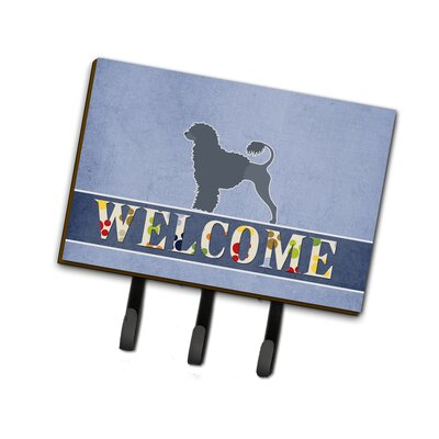 Portuguese Water Dog Welcome Leash or Key Holder