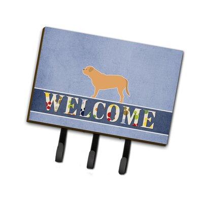 Dogue de Bordeaux Welcome Leash or Key Holder