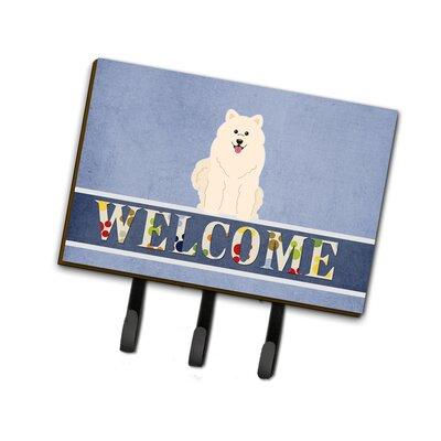 Samoyed Welcome Leash or Key Holder