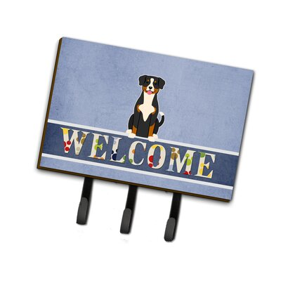 Entlebucher Welcome Leash or Key Holder