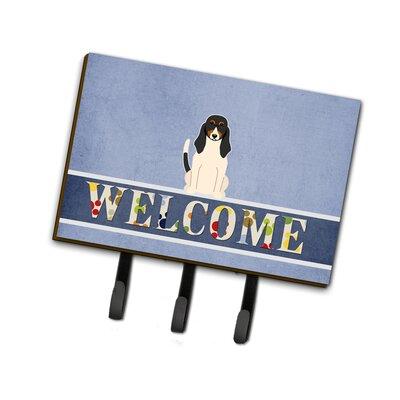 Swiss Hound Welcome Leash or Key Holder