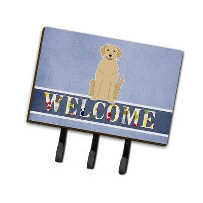 Labrador Welcome Leash or Key Holder