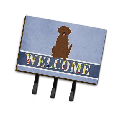 Labrador Welcome Leash or Key Holder
