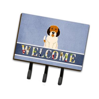 Petit Basset Griffon Veenden Welcome Leash or Key Holder