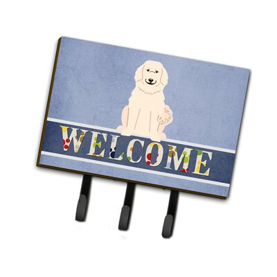 Great Pyrenese Welcome Leash or Key Holder