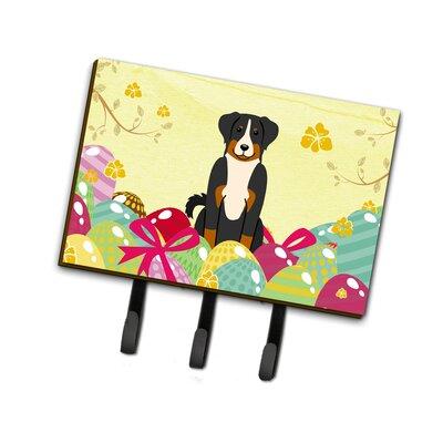 Easter Eggs Appenzeller Sennenhund Leash or Key Holder