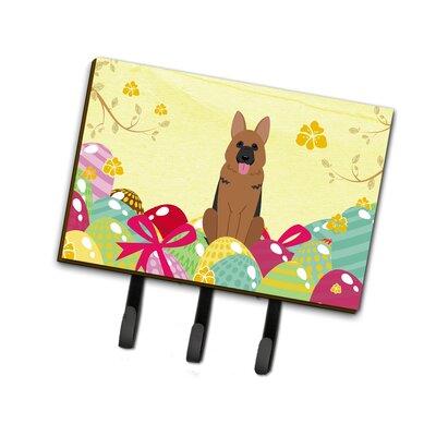 Easter Eggs German Shepherd Leash or Key Holder