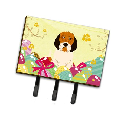 Easter Eggs Petit Basset Griffon Veenden Leash or Key Holder