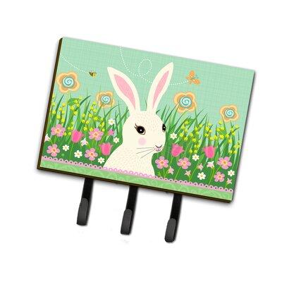 Easter Bunny Rabbit Leash or Key Holder